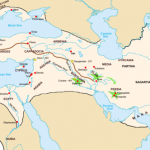 Persian Empire. Image courtesy Wikipedia